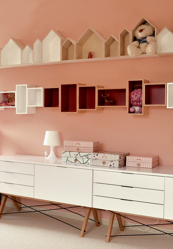 Get the LOOK: a pale rose kids room