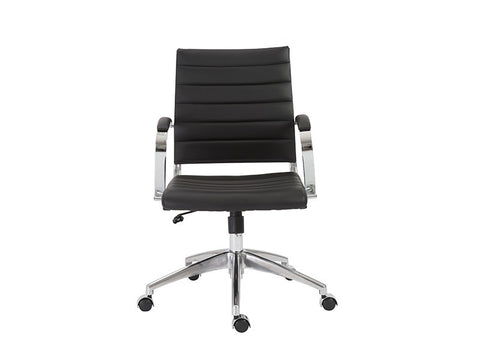Axel Low Back Office Chair in Black design by Euro Style
