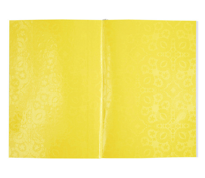Paseo Neon Yellow Notebook design by Christian Lacroix