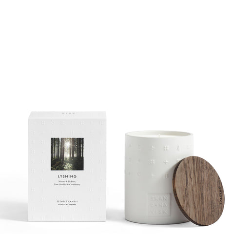 LYSNING Scented Candle by Skandinavisk