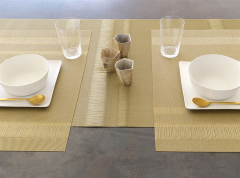 Tuxedo Stripe Tablemat in Multiple Colors design by Chilewich