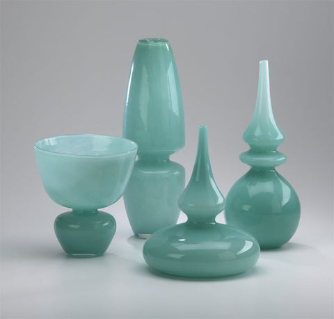 Turquoise Stupa Vase design by Cyan Design
