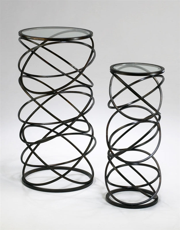 Spiral Tables design by Cyan Design