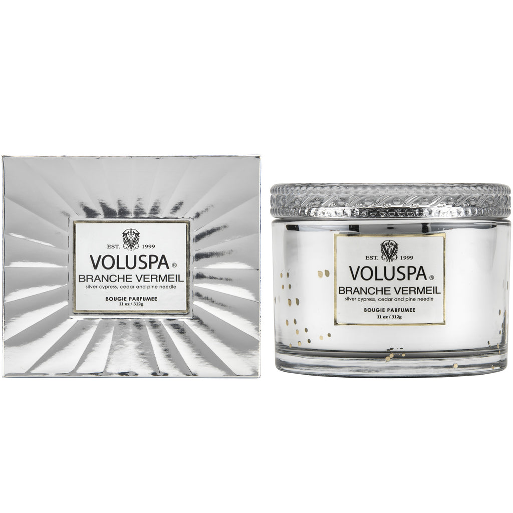 Corta Maison Candle in Branche Vermeil design by Voluspa