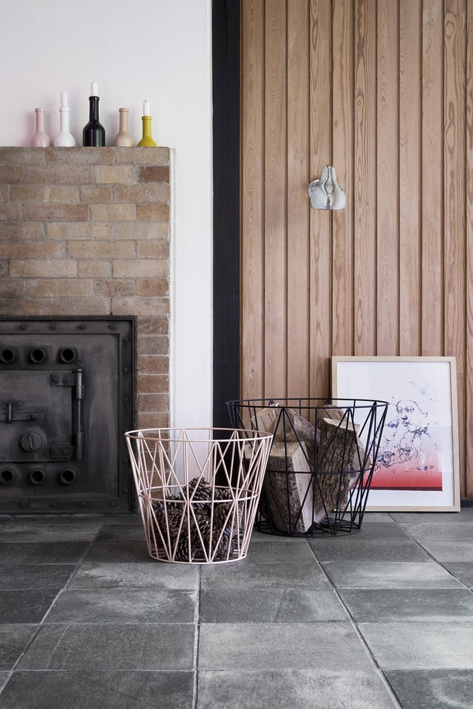 Black Wire Basket by Ferm Living