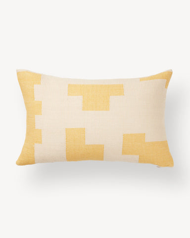 Puzzle Pillow Lemon by Minna