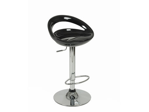 Agnes Bar/Counter Stool in Black design by Euro Style