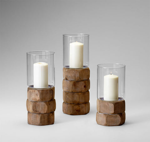 Hex Nut Candleholders design by Cyan Design