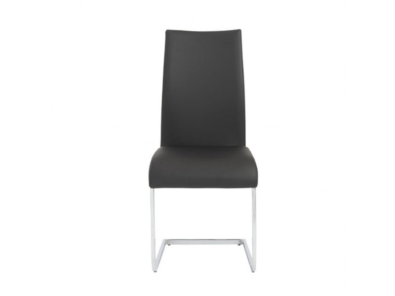 Set of Four Epifania Side Chairs in Black design by Euro Style