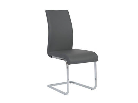 Set of Four Epifania Side Chairs in Grey design by Euro Style