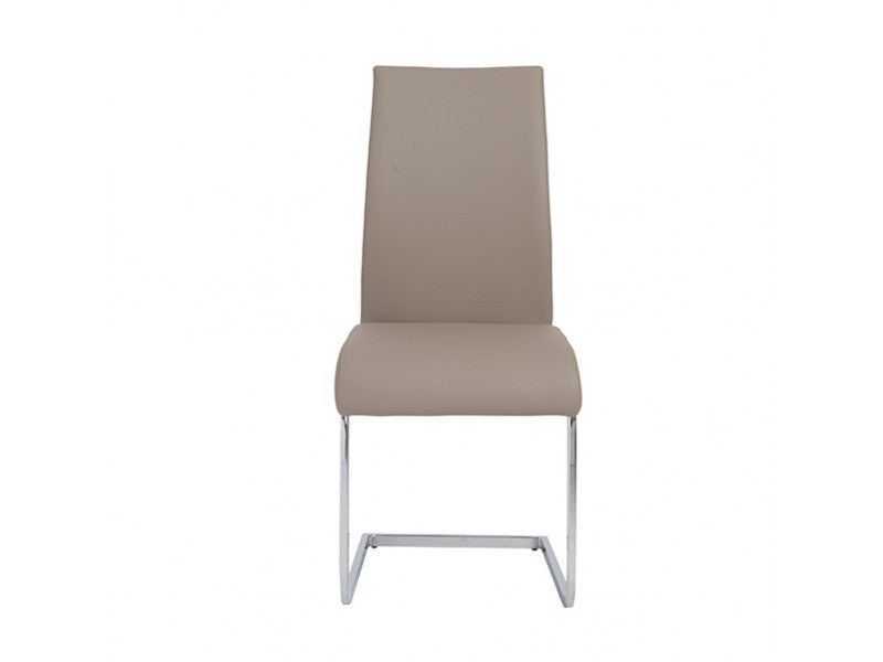 Set of Four Epifania Side Chairs in Taupe design by Euro Style