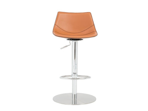 Rudy Bar/Counter Stool in Cognac design by Euro Style