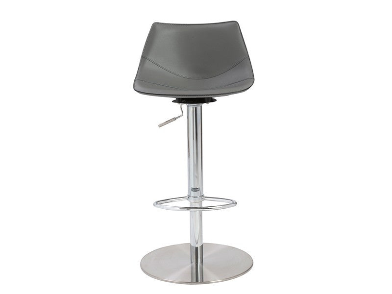 Rudy Bar/Counter Stool in Grey design by Euro Style