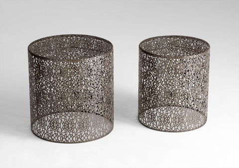 Portman End Tables design by Cyan Design