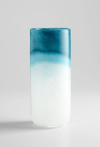 Large Turquoise Cloud Vase design by Cyan Design