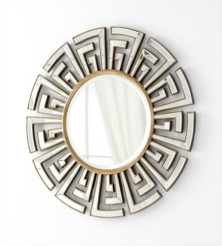 Cleo Mirror design by Cyan Design