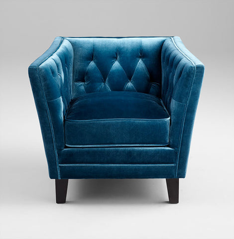 Blue Prince Valiant Chair design by Cyan Design