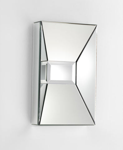Pentallica Square Mirror design by Cyan Design