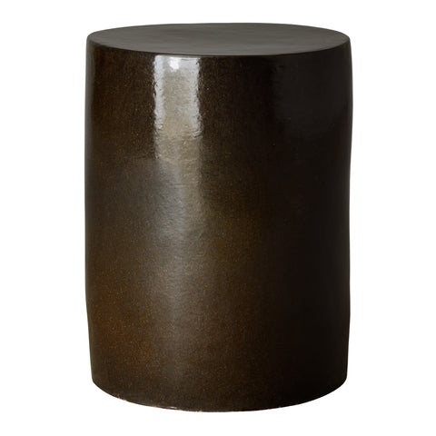 Round Garden Stool/Table in Mocha Pearl