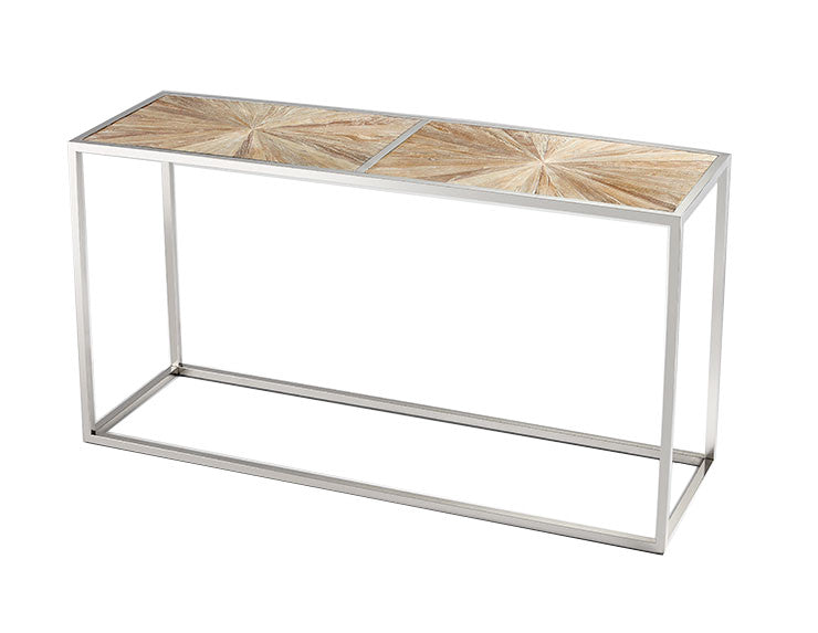Peachy Aspen Console Table Design By Cyan Design Burke Decor Gmtry Best Dining Table And Chair Ideas Images Gmtryco