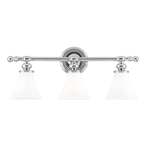 Weston 3 Light Bath Bracket by Hudson Valley Lighting