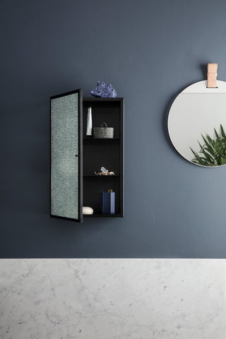 Haze Wall Cabinet in Black by Ferm Living