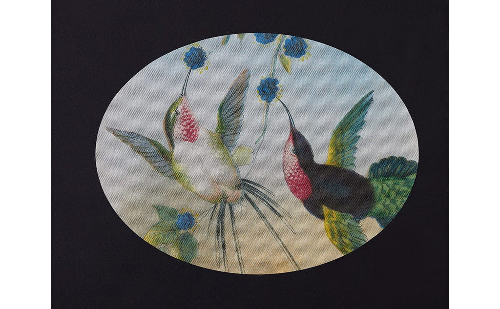 Paired Hummingbirds Placemat by John Derian + Chilewich