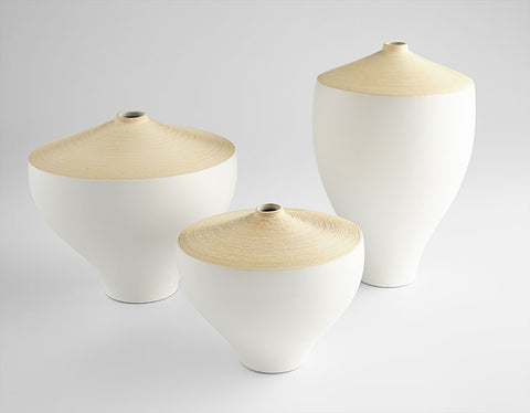 Inez Vase in Various Sizes design by Cyan Design