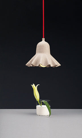 Egg of Columbus Suspended Carton Lamp design