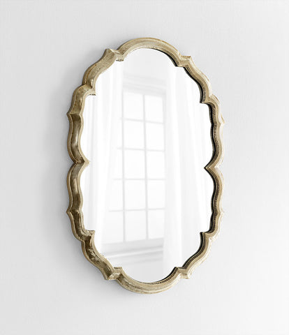 Banning Mirror design by Cyan Design
