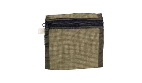 Vintage Parachute Light Pouch - Medium - Olive design by Puebco