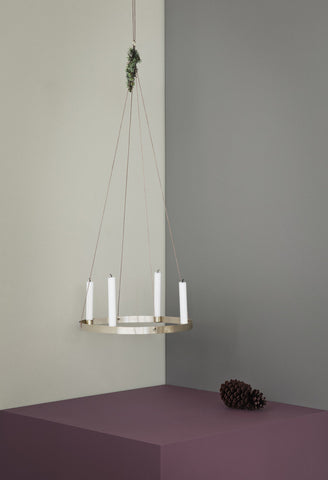 Circle Candle Holder design by Ferm Living