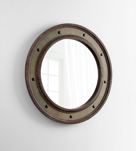 Button Mirror design by Cyan Design