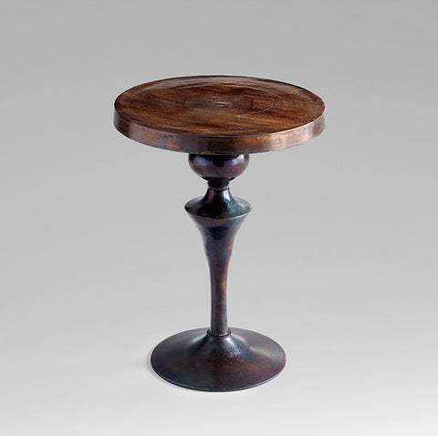 Gully Side Table in Bronze design by Cyan Design