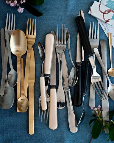 Set of 20 Madrid Cutlery in Various Colors design by Canvas