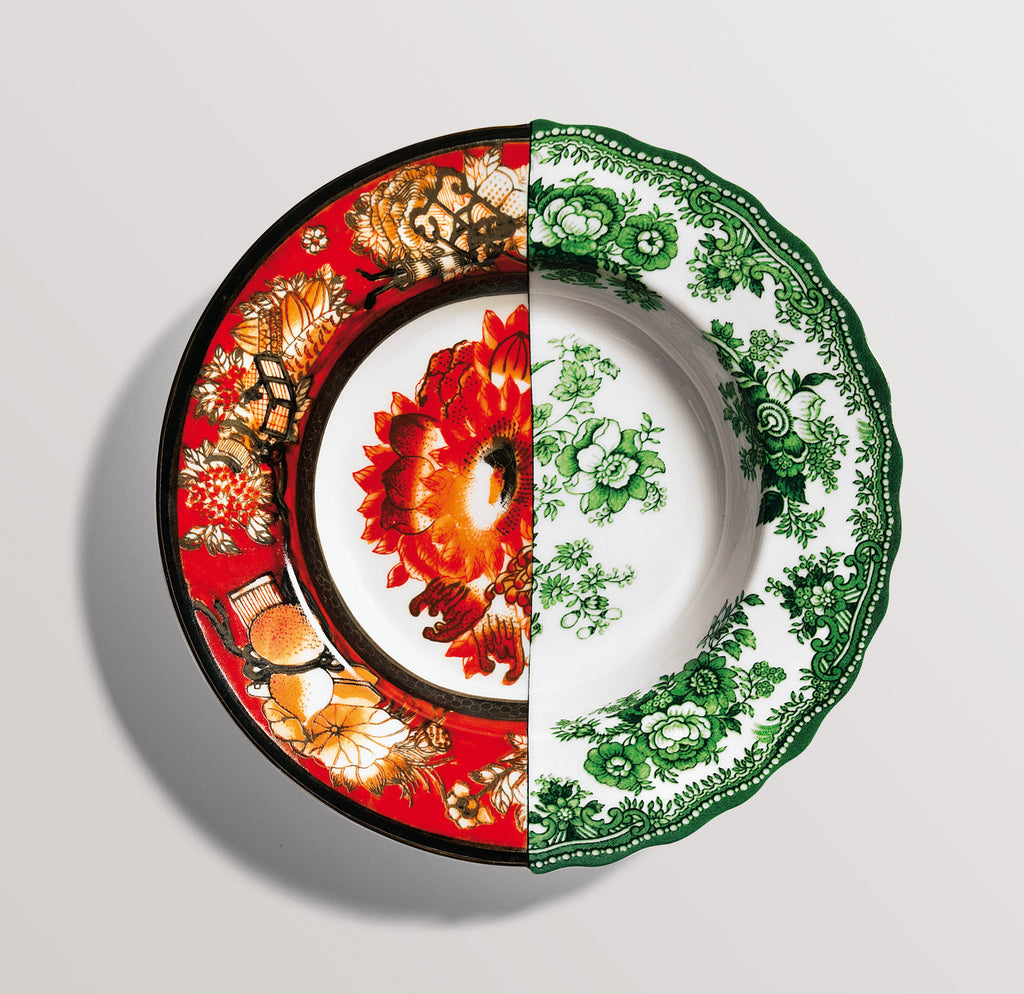 Hybrid Cecilia Porcelain Soup Bowl design by Seletti