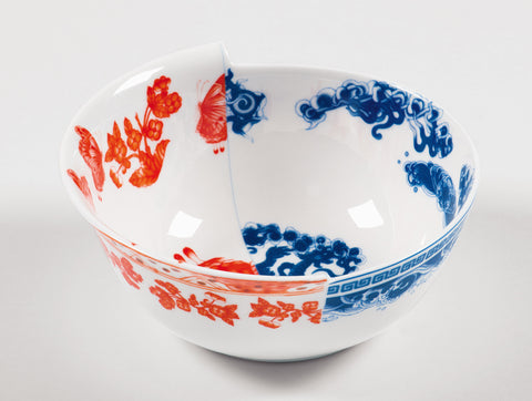 Hybrid Eutropia Porcelain Bowl design by Seletti