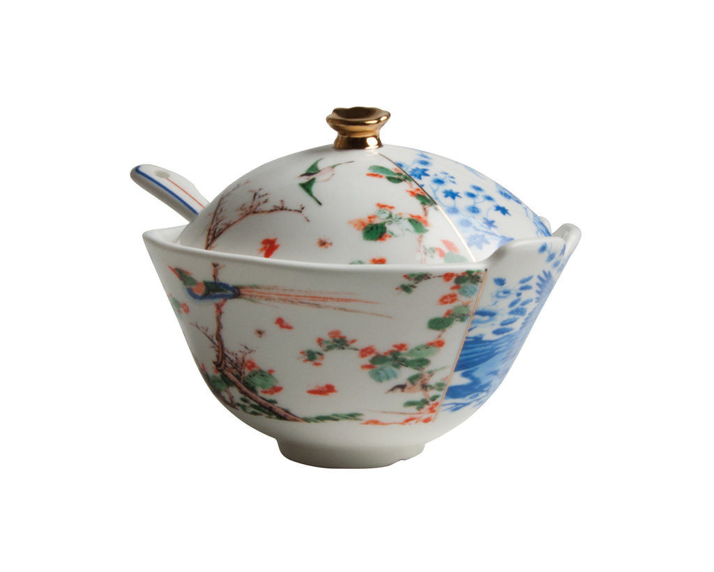 Hybrid Maurilia Porcelain Sugar Pot design by Seletti