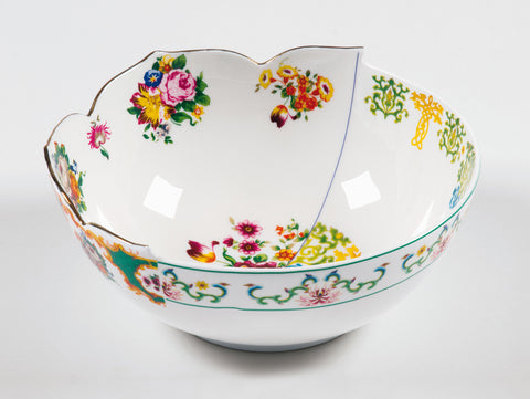 Hybrid Zaira Porcelain Salad Bowl design by Seletti