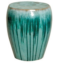 Garden Stool in Turquoise design by Emissary