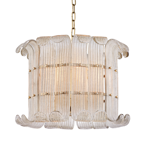 Brasher 8 Light Chandelier by Hudson Valley Lighting