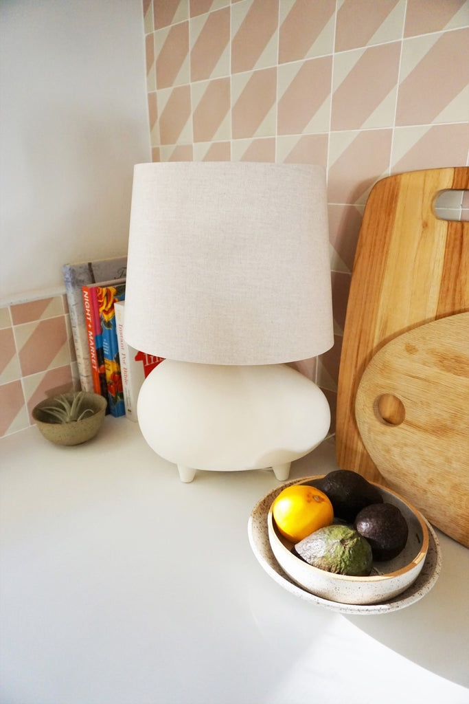 Tiptoe Wide Table Lamp