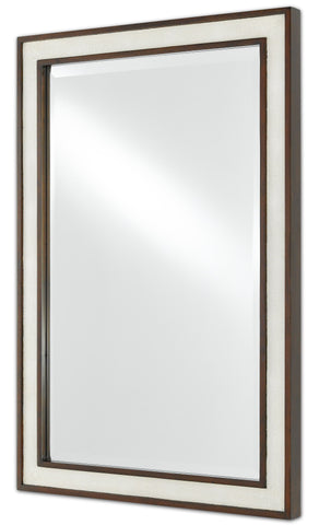 Evie Shagreen Mirror Alternate Image