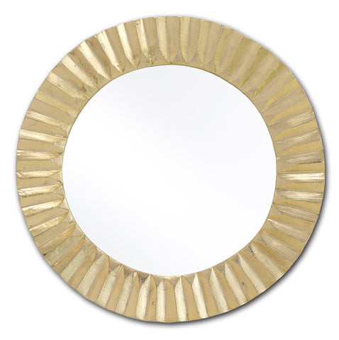 Carla Gold Mirror in Various Sizes Flatshot Image