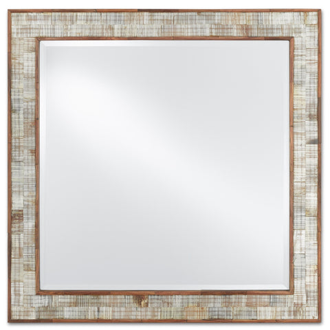 Hyson Square Mirror in Various Sizes Flatshot Image