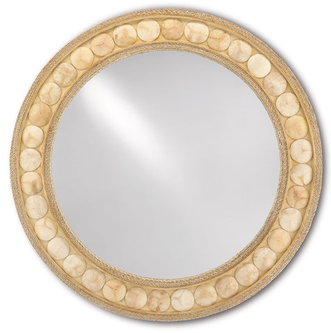 Buko Round Mirror in Various Sizes Flatshot Image