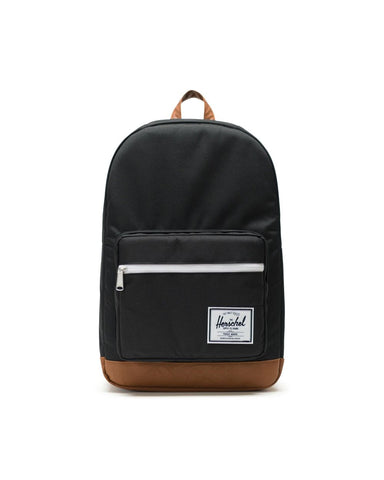 Pop Quiz Backpack in Black & Tan