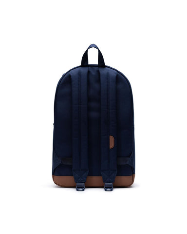 Pop Quiz Backpack in Peacoat & Saddle Brown