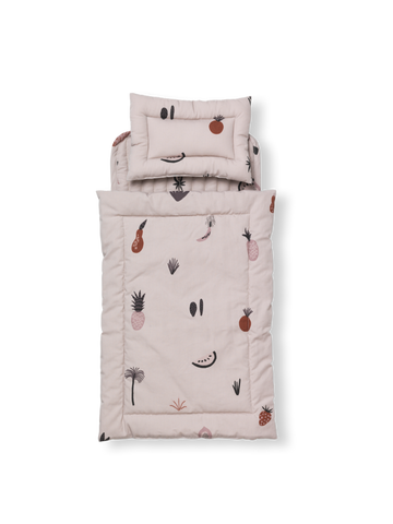 Fruiticana Doll Quilt Bedding Set by Ferm Living