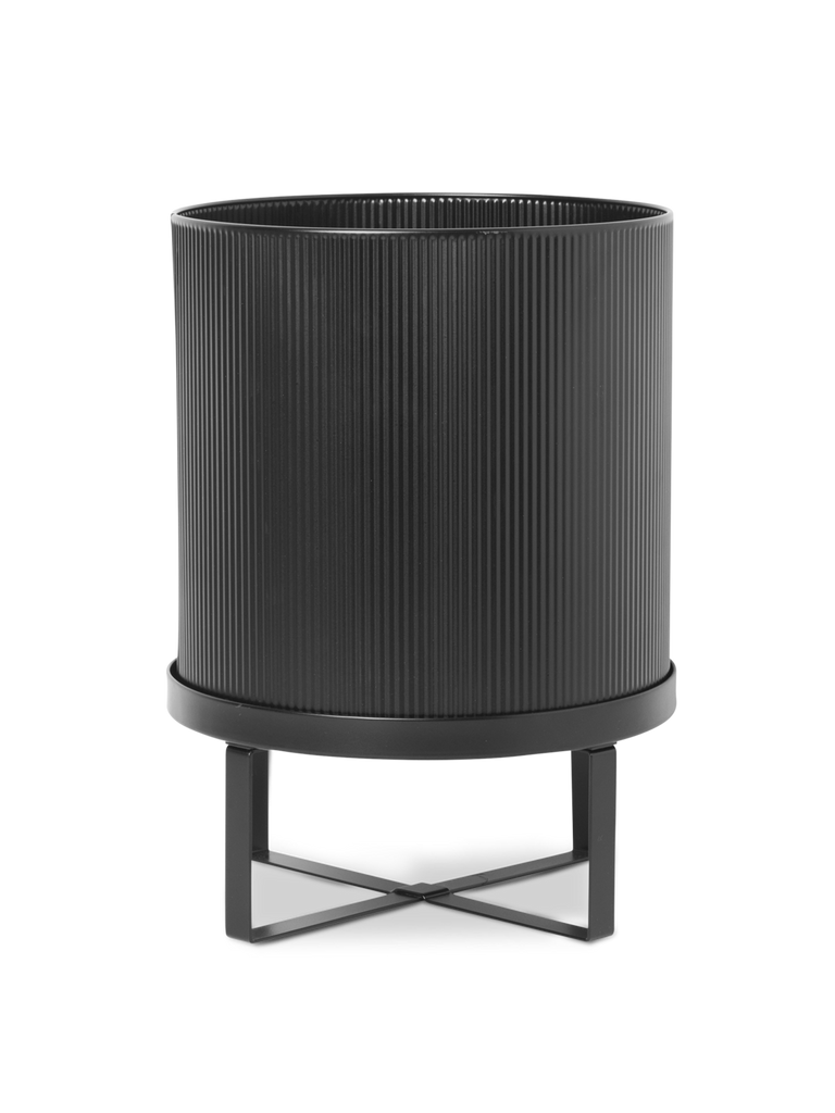 Large Bau Pot in Black